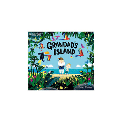 "Bookspeed ""Grandad's Island"" by Benji Davies-Books- Natural Baby Shower"