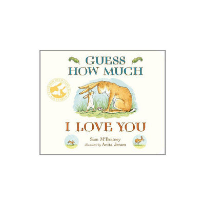 "Bookspeed ""Guess How Much I Love You"" by Sam McBratney-Books- Natural Baby Shower"