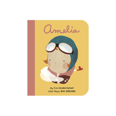 "Bookspeed Little People, Big Dreams: ""Amelia Earhart - My First"" Book-Books- Natural Baby Shower"
