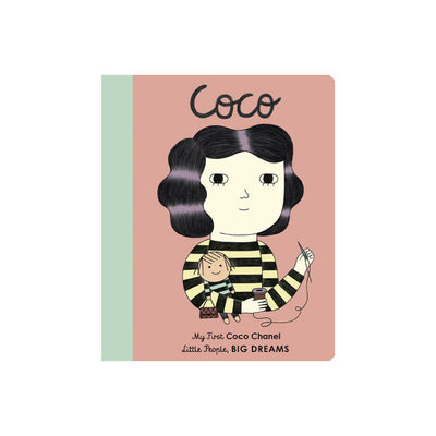 "Bookspeed Little People, Big Dreams: ""Coco Chanel - My First"" Board Book-Books- Natural Baby Shower"