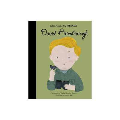 "Bookspeed Little People, Big Dreams: ""David Attenborough"" Book-Books- Natural Baby Shower"