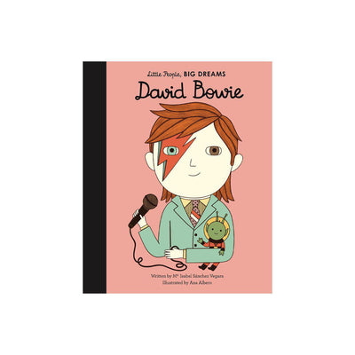 "Bookspeed Little People, Big Dreams: ""David Bowie""-Books- Natural Baby Shower"
