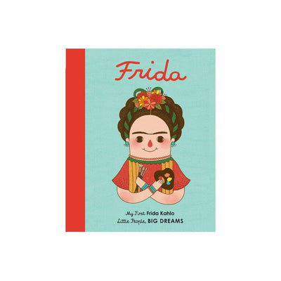 "Bookspeed Little People, Big Dreams: ""Frida Kahlo - My First"" Board Book-Books- Natural Baby Shower"