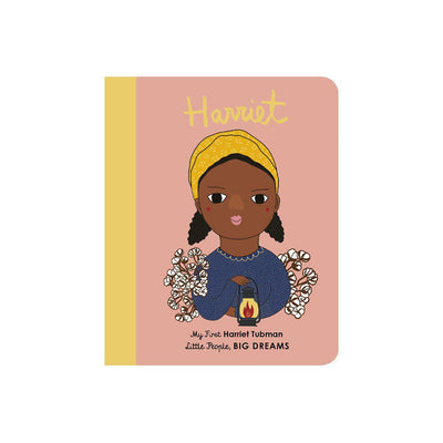 "Bookspeed Little People, Big Dreams: ""Harriet Tubman - My First"" Board Book-Books- Natural Baby Shower"