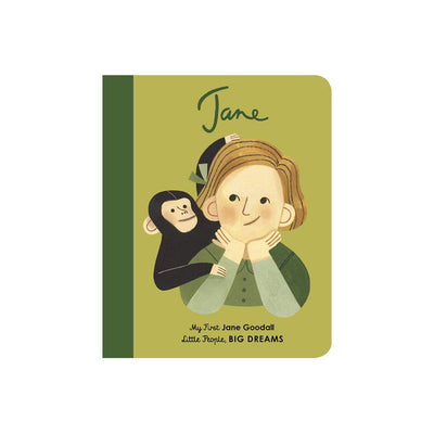 "Bookspeed Little People, Big Dreams: ""Jane Goodall - My First"" Board Book-Books- Natural Baby Shower"