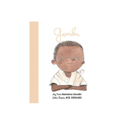 "Bookspeed Little People, Big Dreams: ""Mahatma Gandhi - My First"" Board Book-Books- Natural Baby Shower"