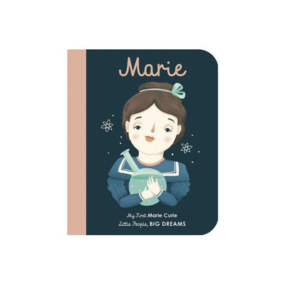 "Bookspeed Little People, Big Dreams: ""Marie Curie - My First"" Board Book-Books- Natural Baby Shower"