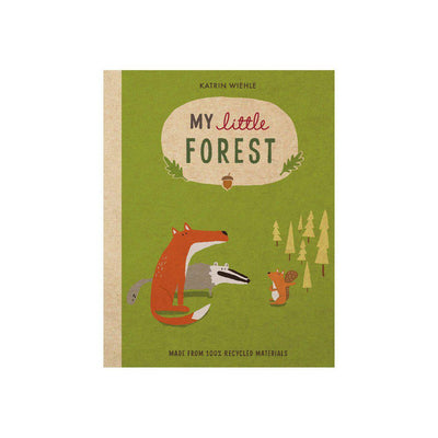 "Bookspeed ""My Little Forest"" Book by Katrin Wiehle-Books- Natural Baby Shower"
