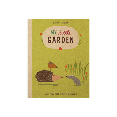 "Bookspeed ""My Little Garden"" Book by Katrin Wiehle-Books- Natural Baby Shower"