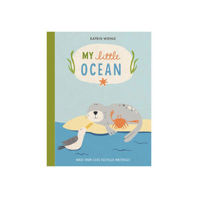 "Bookspeed ""My Little Ocean"" Book by Katrin Wiehle-Books- Natural Baby Shower"