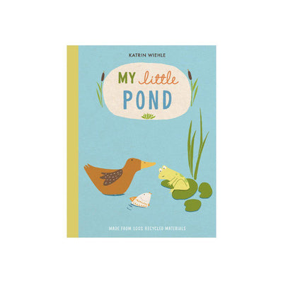 "Bookspeed ""My Little Pond"" Book by Katrin Wiehle-Books- Natural Baby Shower"