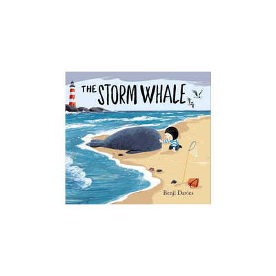 "Bookspeed ""Storm Whale"" Book by Benji Davies-Books- Natural Baby Shower"