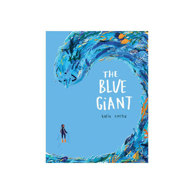 "Bookspeed ""The Blue Giant"" Book by Katie Cottle-Books- Natural Baby Shower"