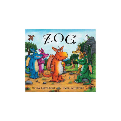 "Bookspeed ""Zog"" by Julia Donaldson-Books- Natural Baby Shower"