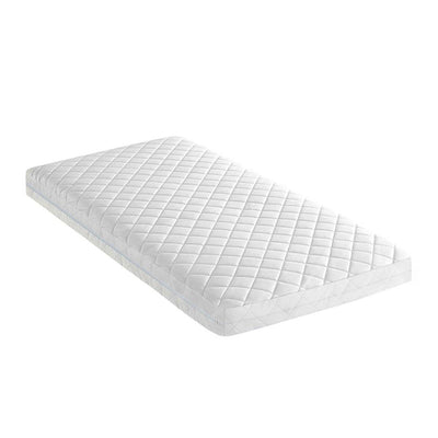 Boori Babysafe Foam + Pocket Spring Mattress - 132 x 70cm-Mattresses- Natural Baby Shower
