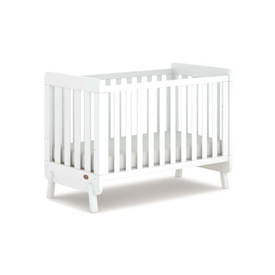 Boori Harbour Cot - White-Cot Beds-White- Natural Baby Shower