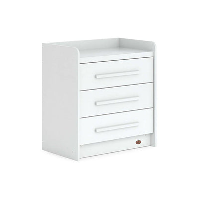 Boori Neat 3 Drawer Chest - White-Dressers & Chests-White- Natural Baby Shower