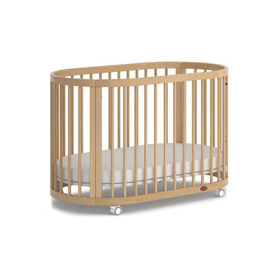 Boori Oasis Oval Cot - Beech-Cot Beds-Beech- Natural Baby Shower