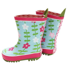 Boots - Toby Tiger Wellies - Pink Flowers
