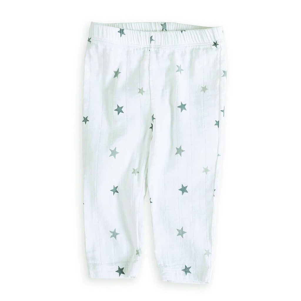 Bottoms - Aden & Anais Muslin Pants - Twinkle Tiny Star
