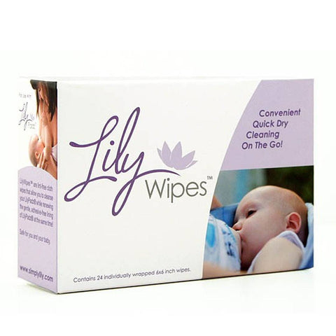 Lilypadz LilyWipes for Breast Pads - Breast Pads - Natural Baby Shower