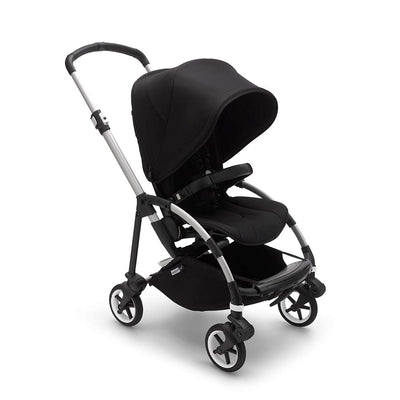 Bugaboo Bee 6 Pushchair - Aluminium + Black-Strollers-Black- Natural Baby Shower