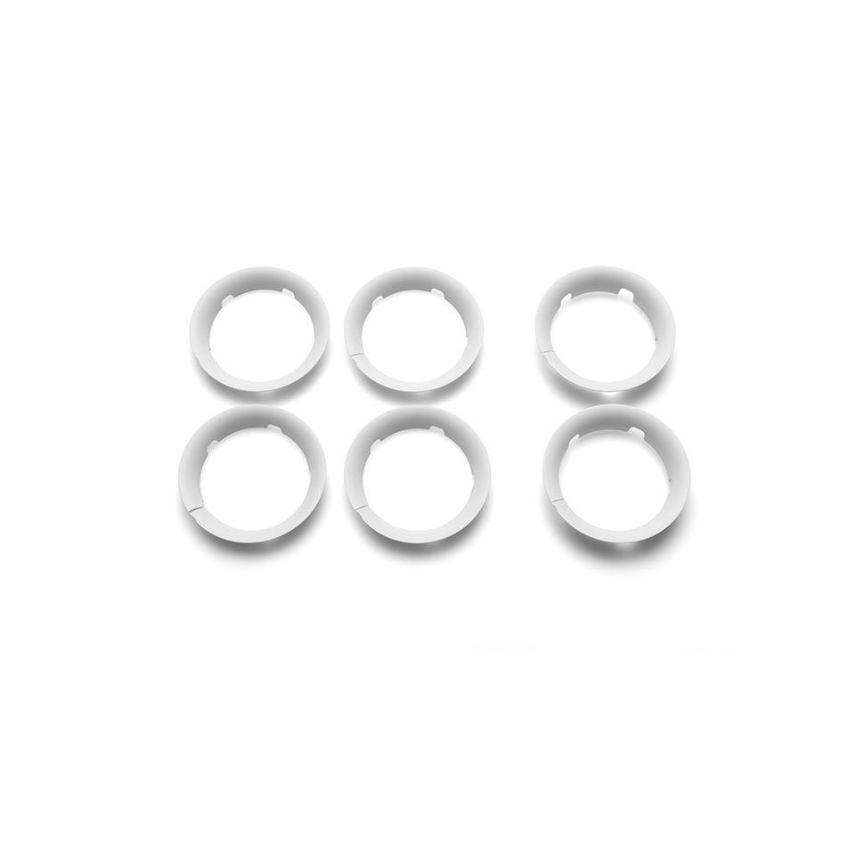 Stroller Accessories - Bugaboo Bee5 Wheel Caps - White