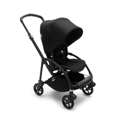 Bugaboo Bee 6 Complete Pushchair - Black + Black-Strollers- Natural Baby Shower