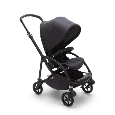 Bugaboo Bee6 Complete Pushchair - Washed Black-Strollers-Washed Black-Black- Natural Baby Shower