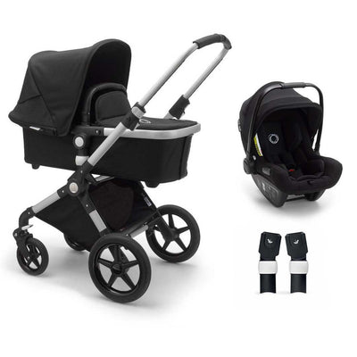Bugaboo Lynx Turtle Travel System - Aluminium + Black-Travel Systems- Natural Baby Shower
