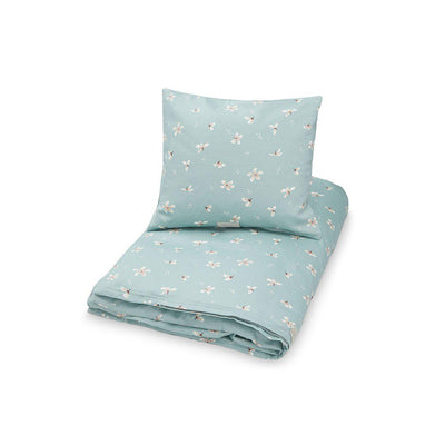 Cam Cam Copenhagen Bedding - Junior - Windflower Blue-Bedding Sets-Windflower Blue-100x140cm- Natural Baby Shower