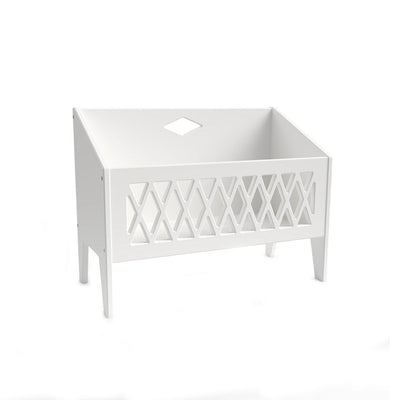 Cam Cam Copenhagen Book Bench - White-Storage-White- Natural Baby Shower