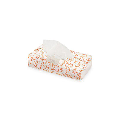 Cam Cam Copenhagen Wet Wipe Cover - Caramel Leaves-Wet Wipes Cover- Natural Baby Shower