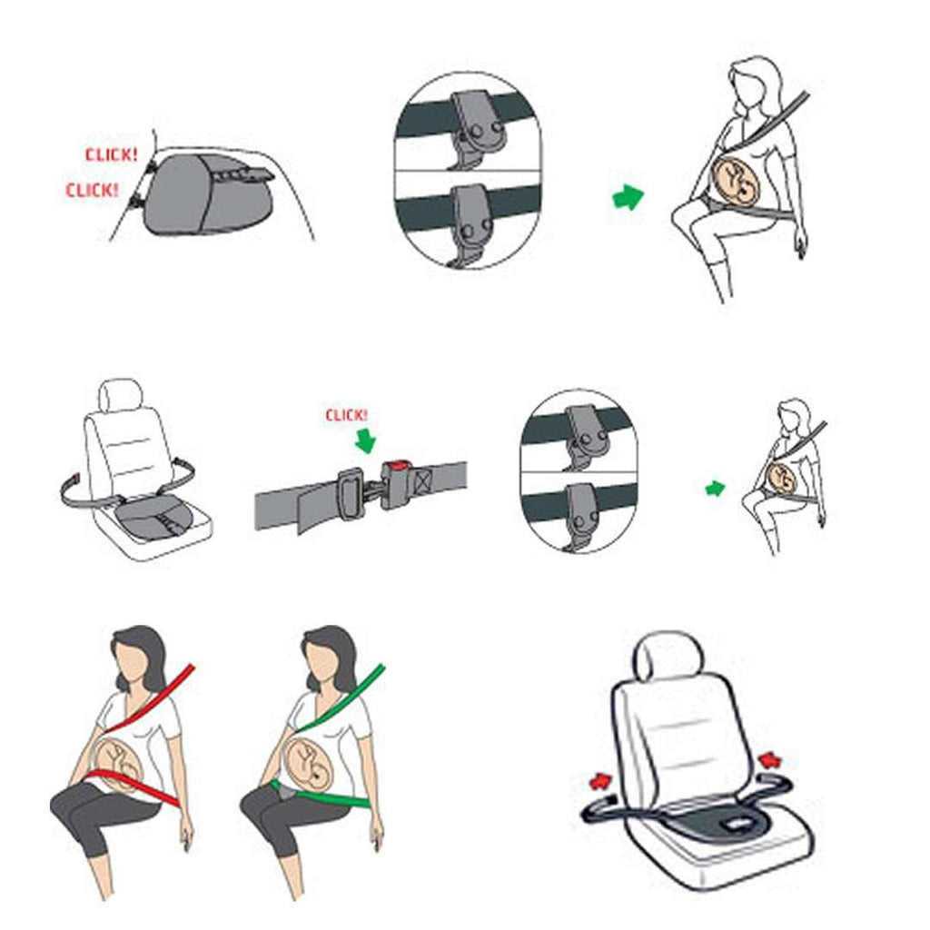 Car Seat & Stroller Accessories - BeSafe Pregnancy Belt IZi FIX For All Seats