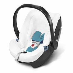 Car Seat & Stroller Accessories - Cybex Aton 4 Summer Cover - White