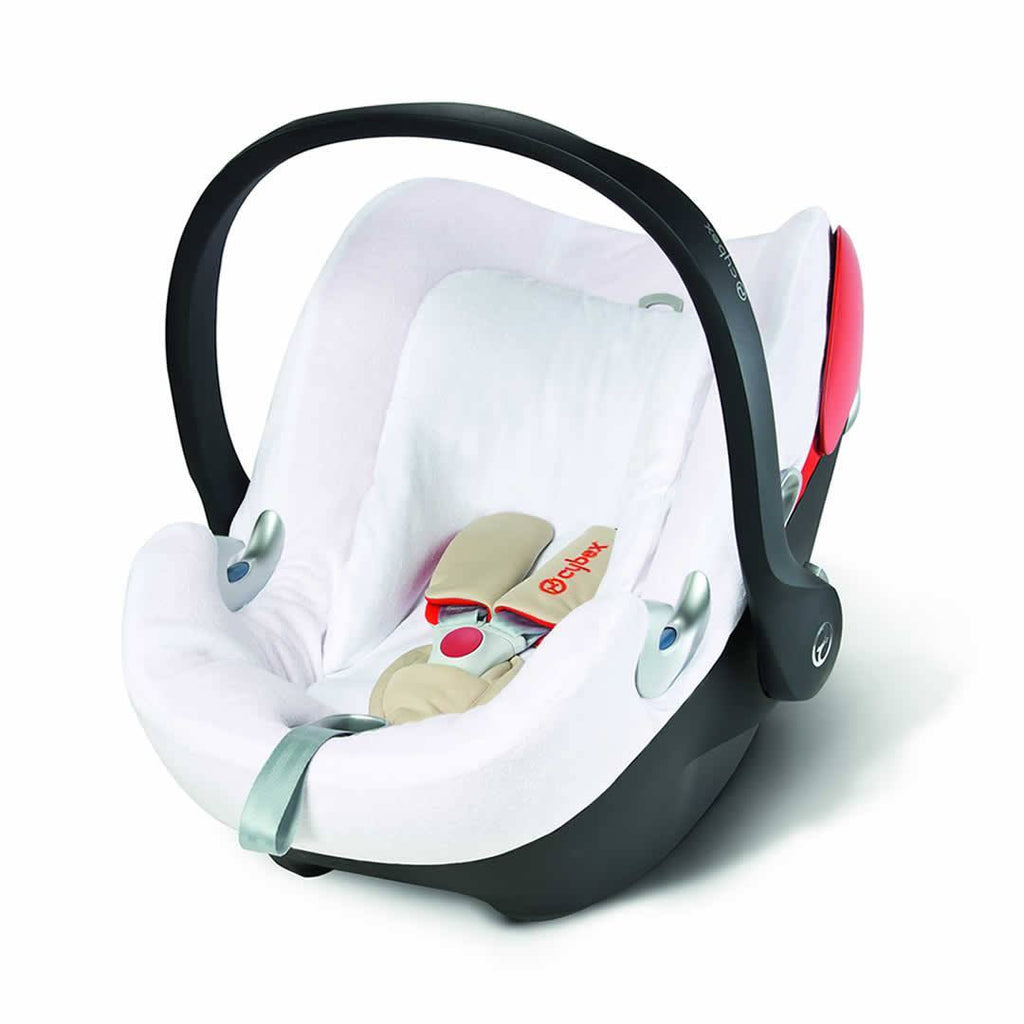 Cybex Aton Q Summer Cover - White - Sun Covers - Natural Baby Shower