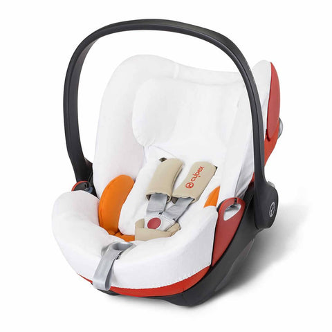 Cybex Cloud Q Summer Cover - White - Sun Covers - Natural Baby Shower