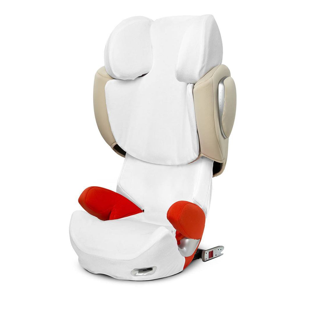 Car Seat & Stroller Accessories - Cybex Solution Q Summer Cover - White