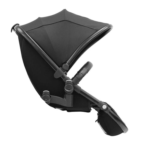egg Tandem Seat - Black with Gotham Black - Tandem Seats - Natural Baby Shower