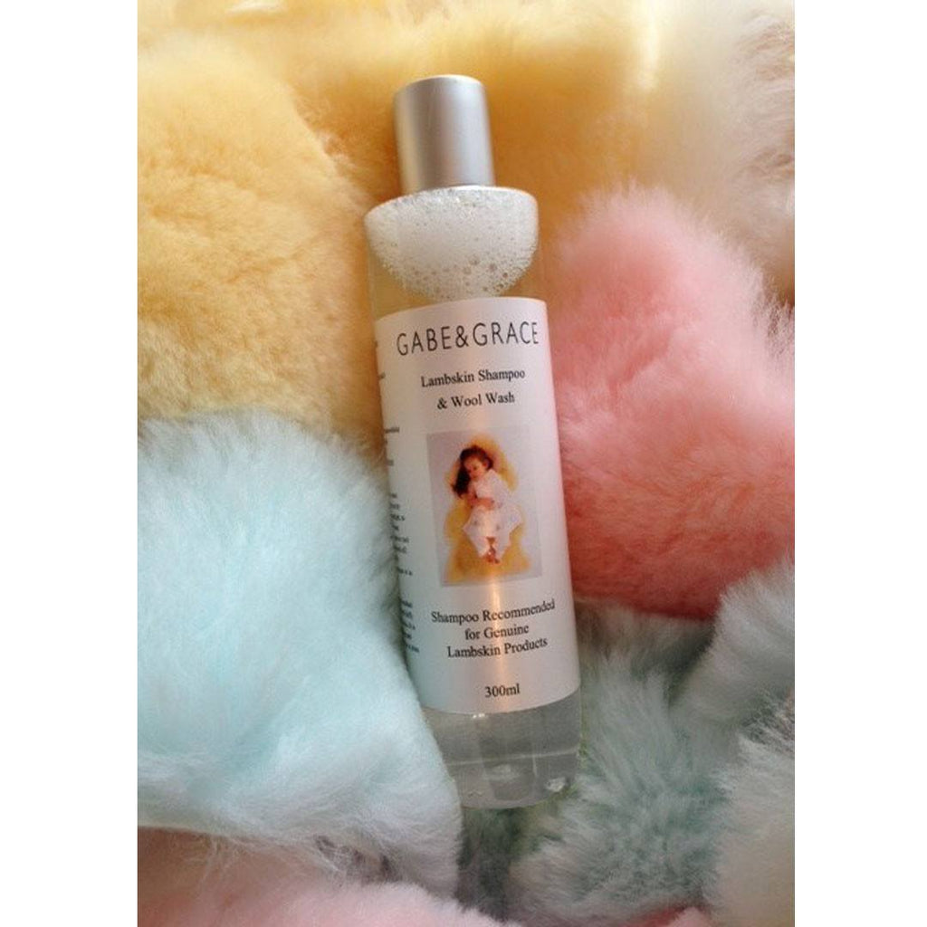 Gabe & Grace Lambskin Shampoo - 300ml - Car Seat Accessories - Natural Baby Shower