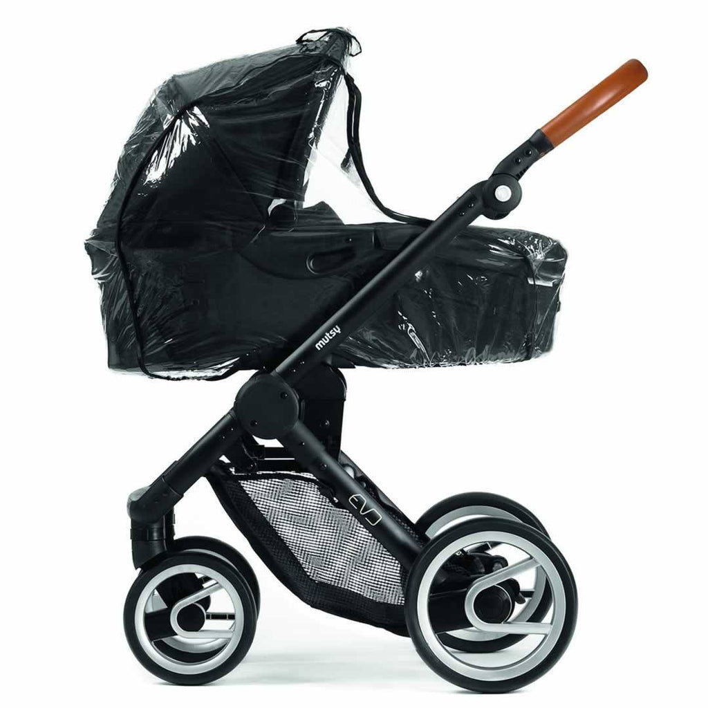 Car Seat & Stroller Accessories - Mutsy Evo Carrycot Raincover
