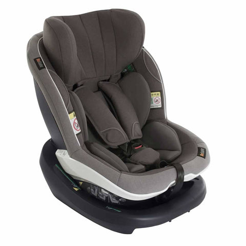 BeSafe iZi Modular i-Size Car Seat - Metallic Melange-Car Seats- Natural Baby Shower