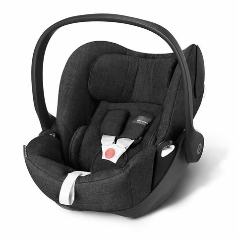Cybex Cloud Q Plus Car Seat - Black Beauty - Car Seats - Natural Baby Shower