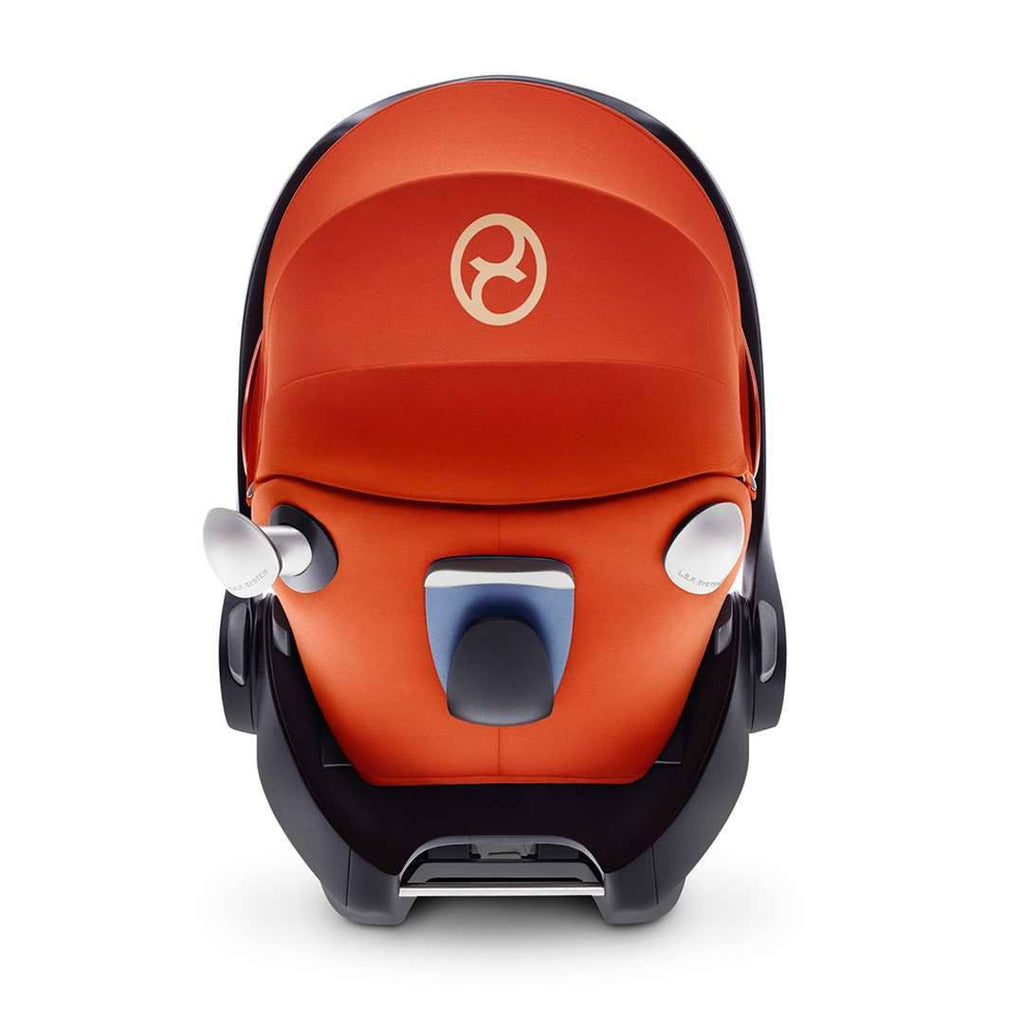 Cybex Cloud Q Plus Car Seat Mars Red Back