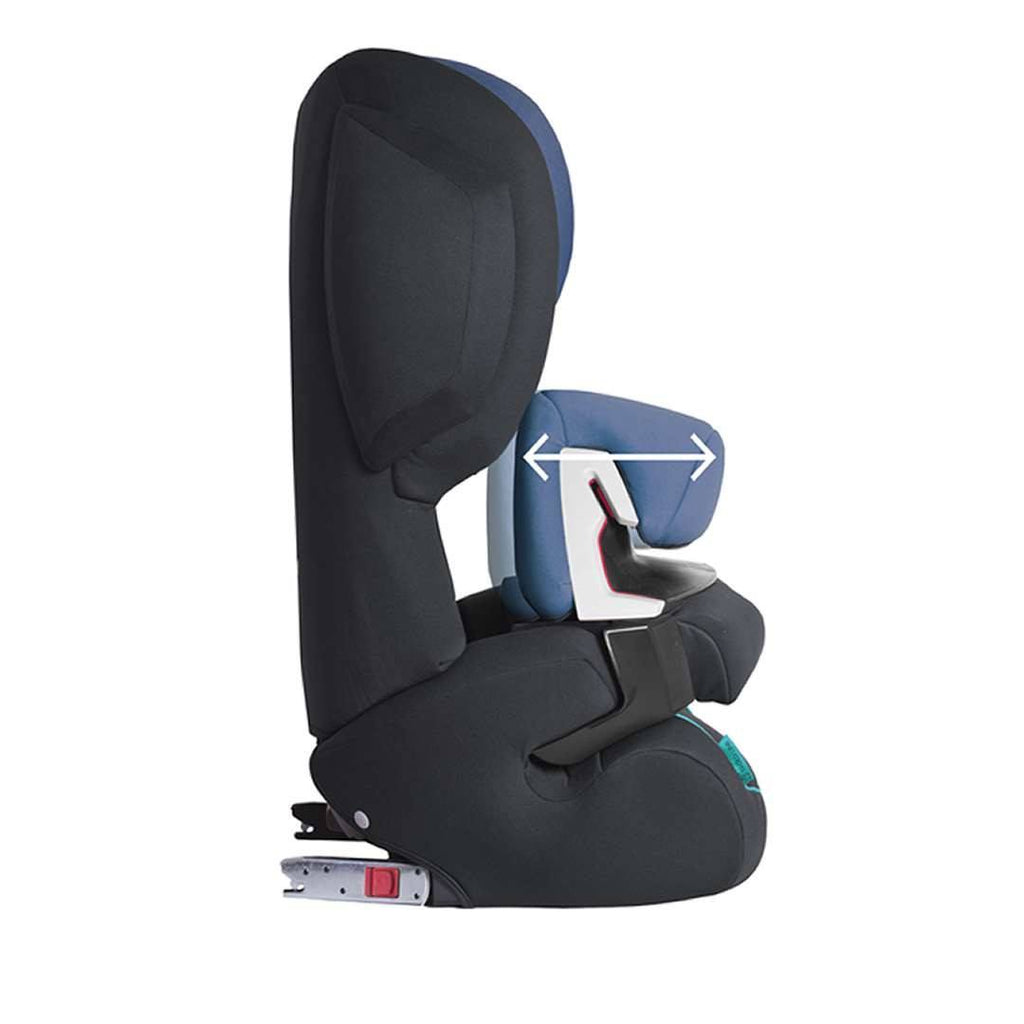 Car Seats - Cybex Juno 2-Fix Car Seat - Hot & Spicy