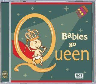 CD's - Babies Go CD - Queen