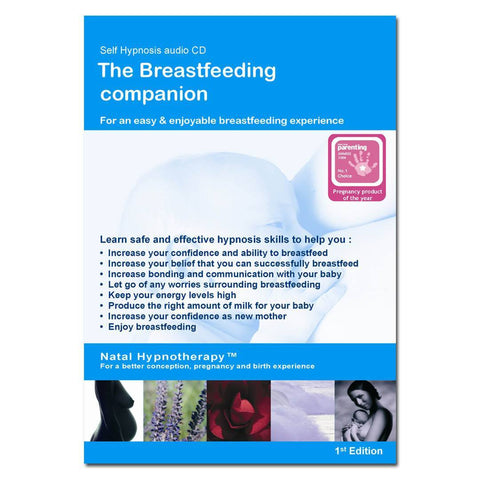 Natal Hypnotherapy Breast-feeding Companion CD - CD's - Natural Baby Shower