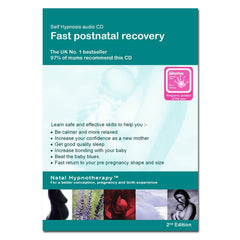 CD's - Natal Hypnotherapy Fast Post Natal Recovery CD