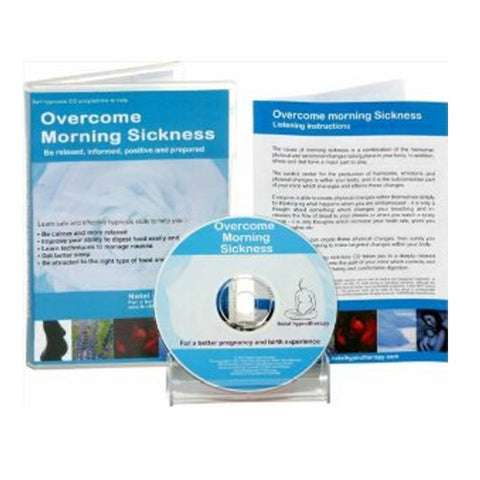 Natal Hypnotherapy Overcome Morning Sickness CD - CD's - Natural Baby Shower