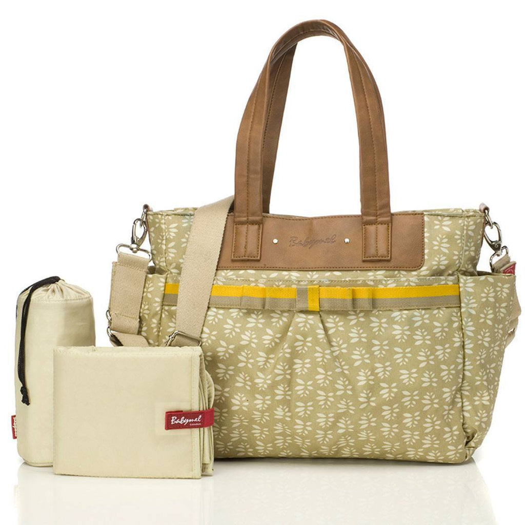 Changing Bags - Babymel Changing Bag - Cara - Fawn Petal